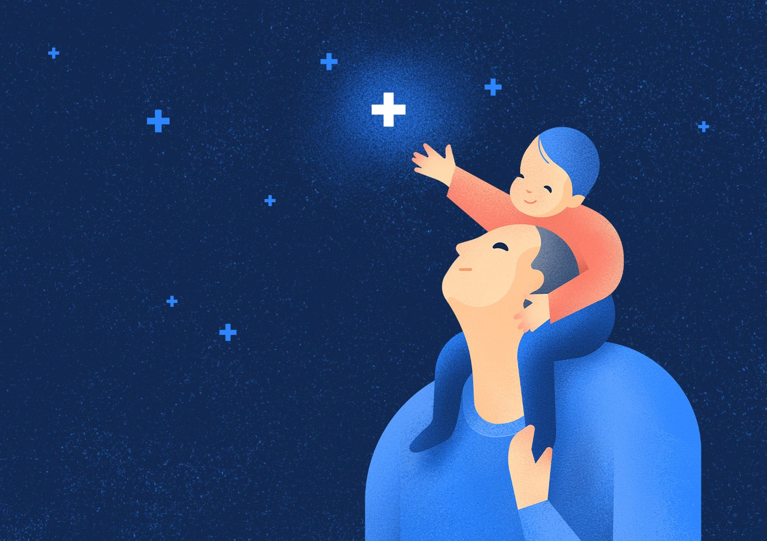 Patient pre-diagnosis triage software for the whole family. Illustration by Aga Więckowska.