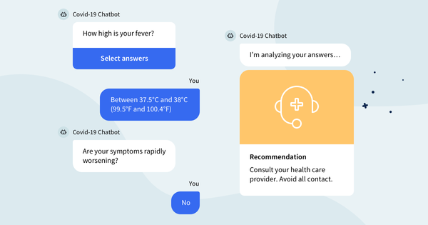 COVID-19 Risk Assessment ChatBot is ready to chat